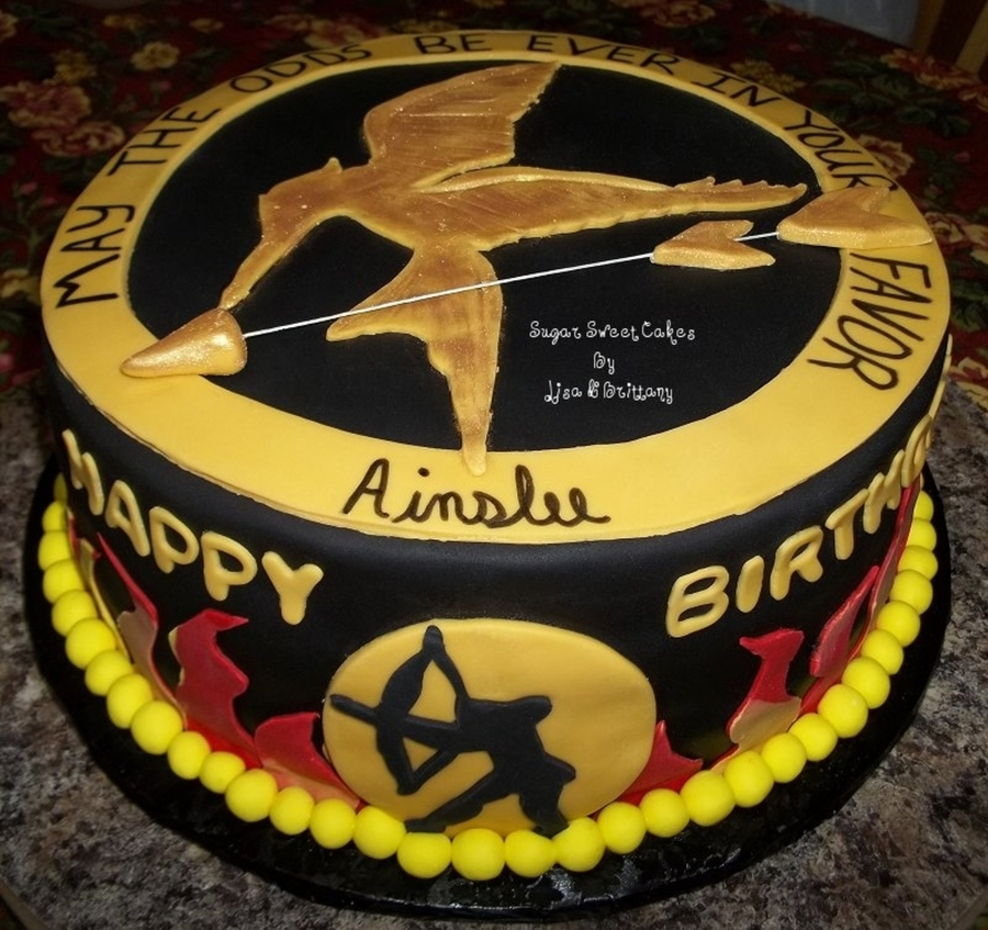 The Hunger Games on Cake Central