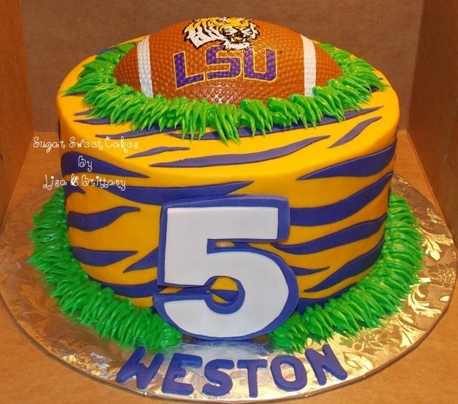 Lsu Tigers on Cake Central