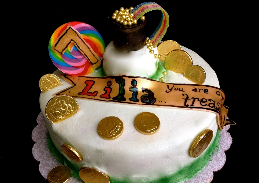 Lucky Leprechaun on Cake Central