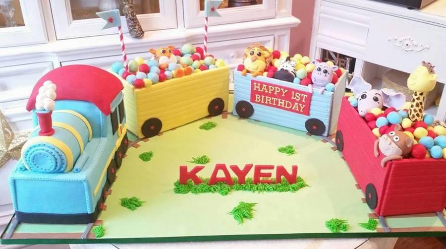 3d Cartoon Train Cake Cakecentral Com