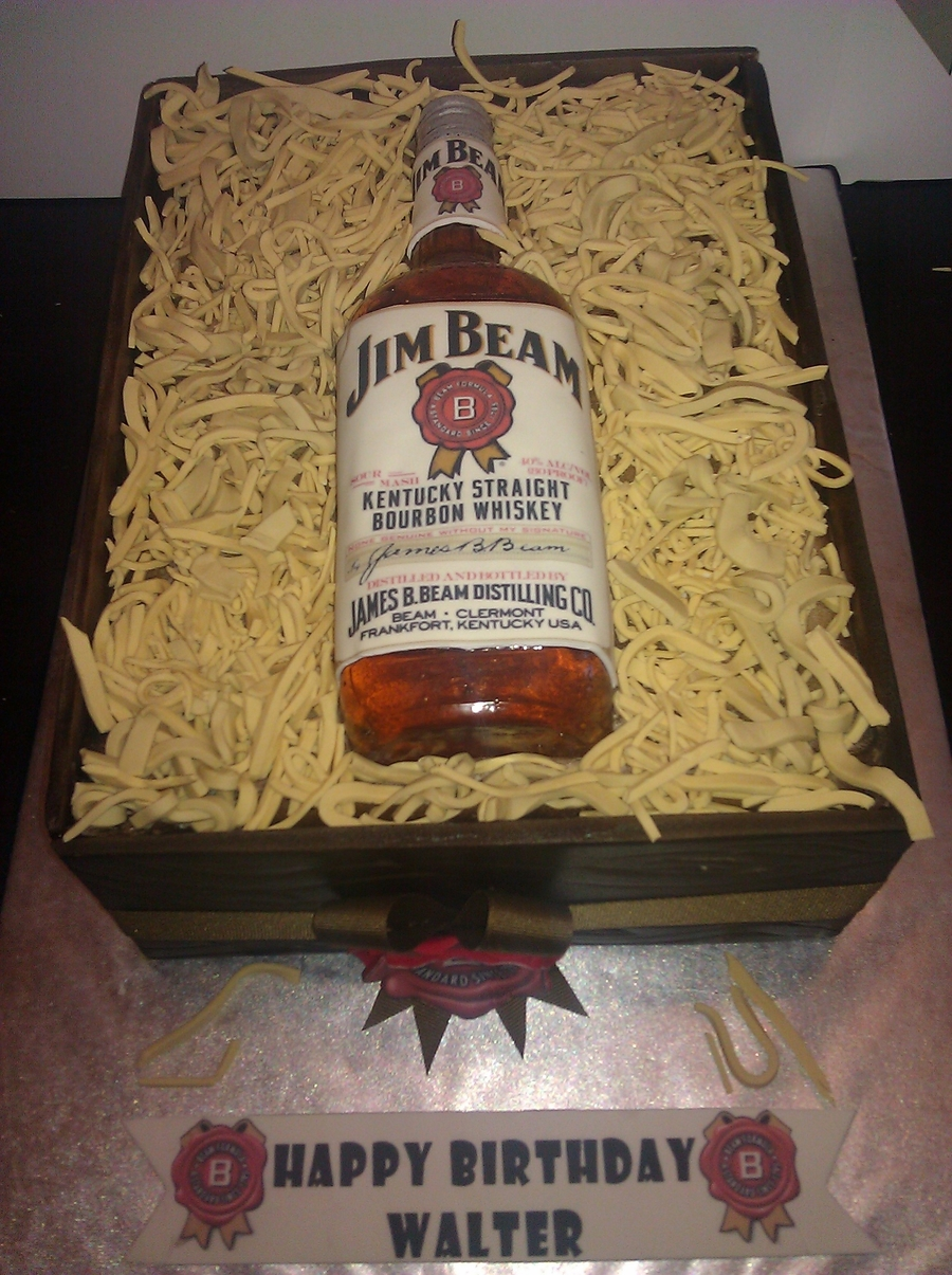 Jim Beam Cake  on Cake Central