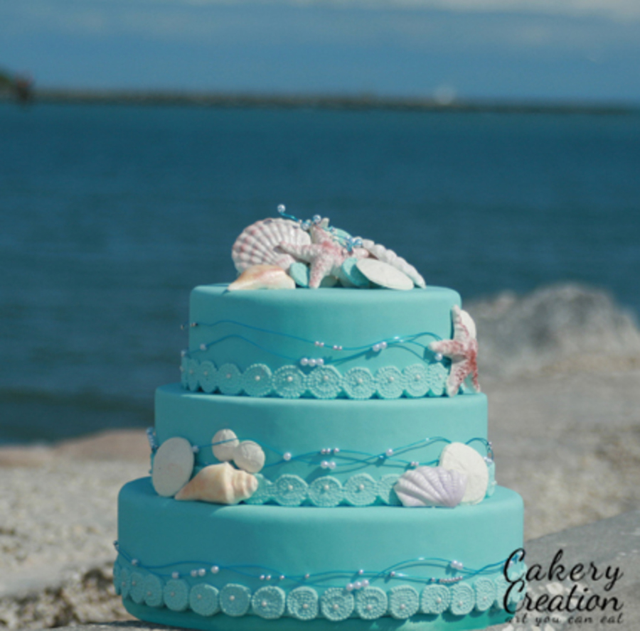 Beach Wedding Cake Recipes