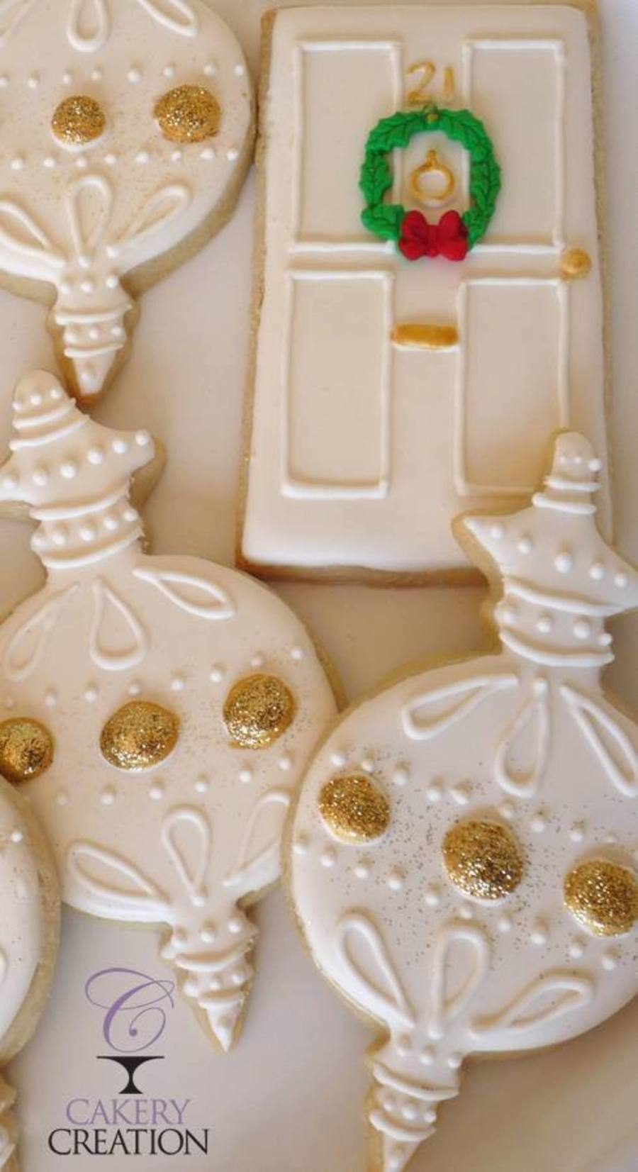 Holiday Doors And Ornament Cookies on Cake Central