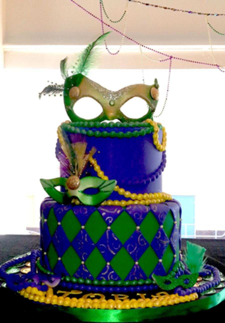 Mardi Gras Cakes Cakecentral Com