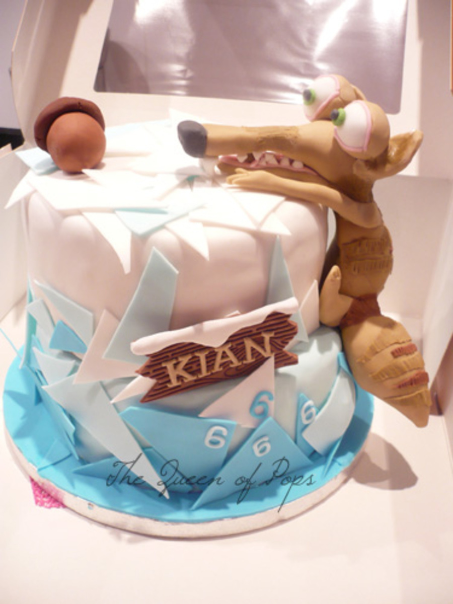 Ice Age Scrat on Cake Central