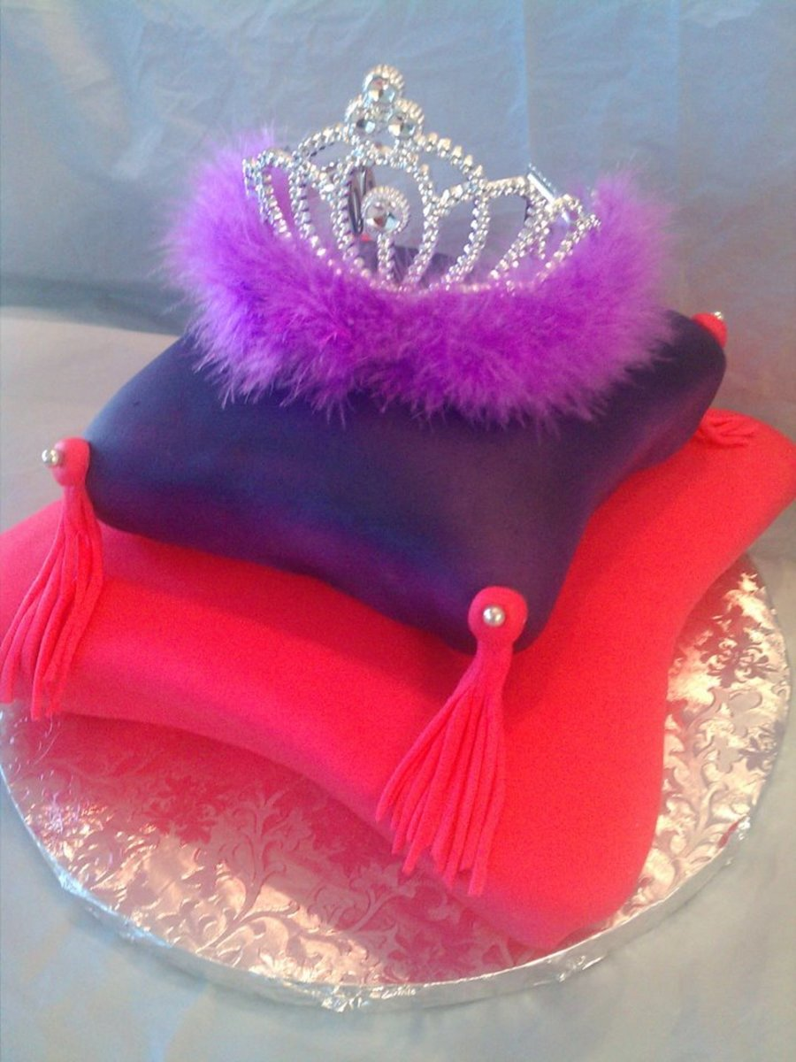 Royalty Princess Pillow Cake on Cake Central