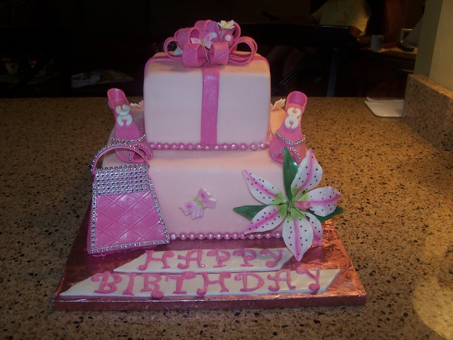 Birthday Cake Girly Girl Cakecentral Com
