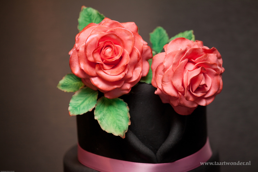 Rose Is A Rose A Cake For A Bridal Shower on Cake Central