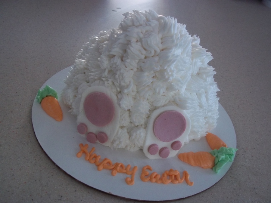 Bunny Butt Cake on Cake Central