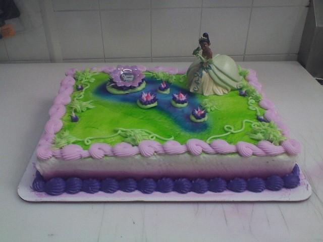Air Brushed Sheet Cake