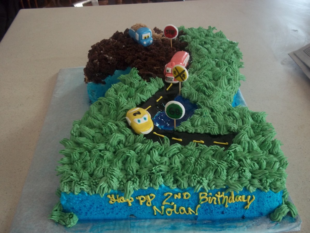 Cars 2Nd Birthday Cake CakeCentralcom