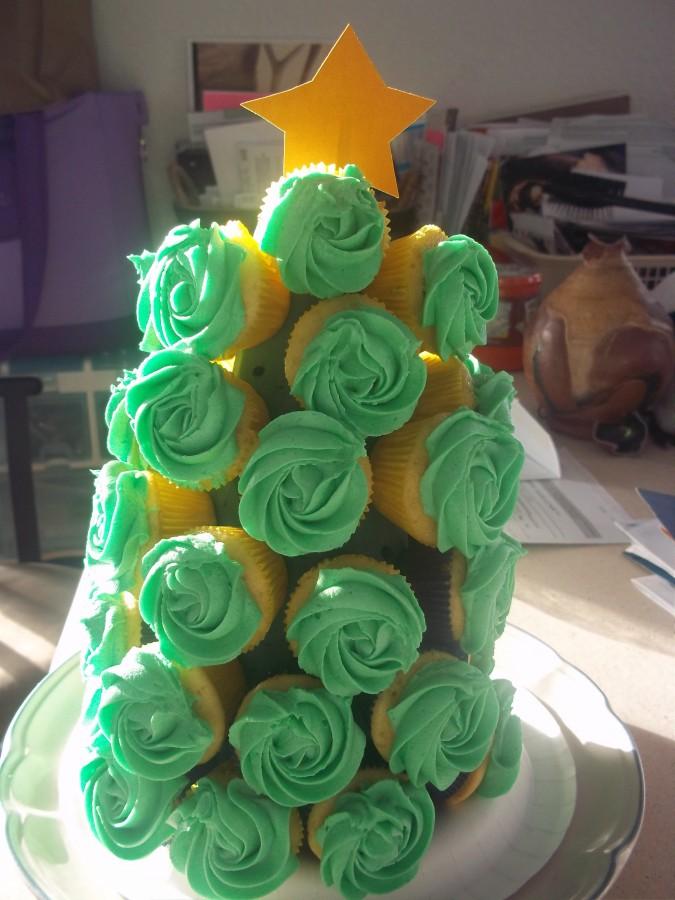 Christmas Tree Cupcake Boquete Cakecentral Com