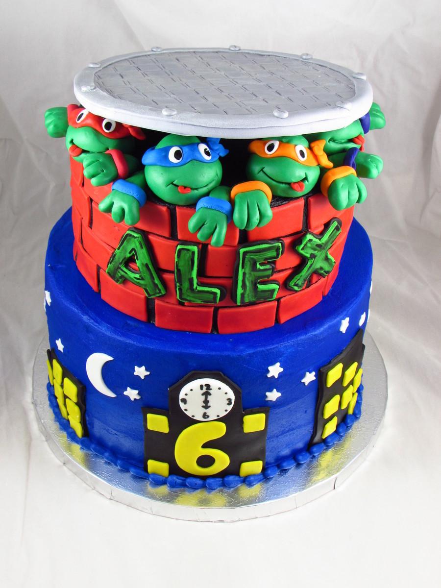 Cake Wars Tmnt