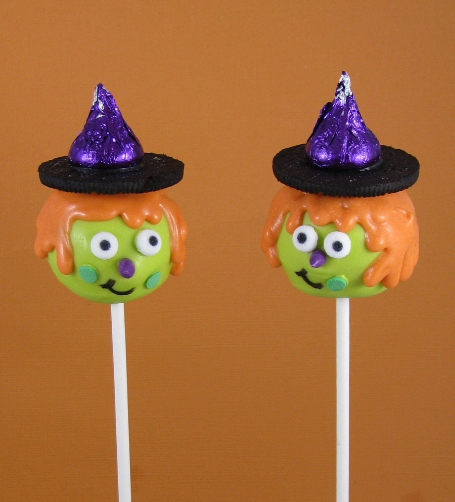 Witch Cake Pops  on Cake Central
