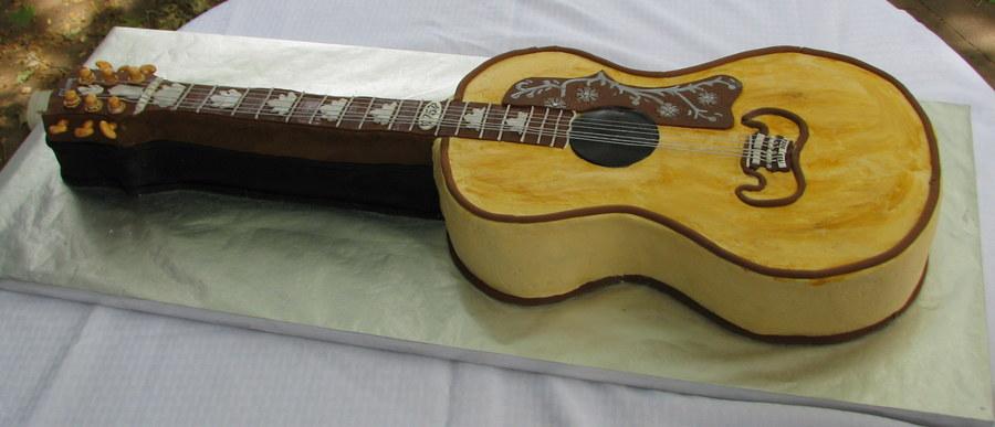 Acoustic Guitar Birthday Cake Recipe
