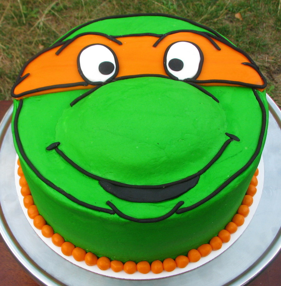 Fine Teenage Mutant Ninja Turtles Birthday Cake Cakecentral Com Funny Birthday Cards Online Fluifree Goldxyz