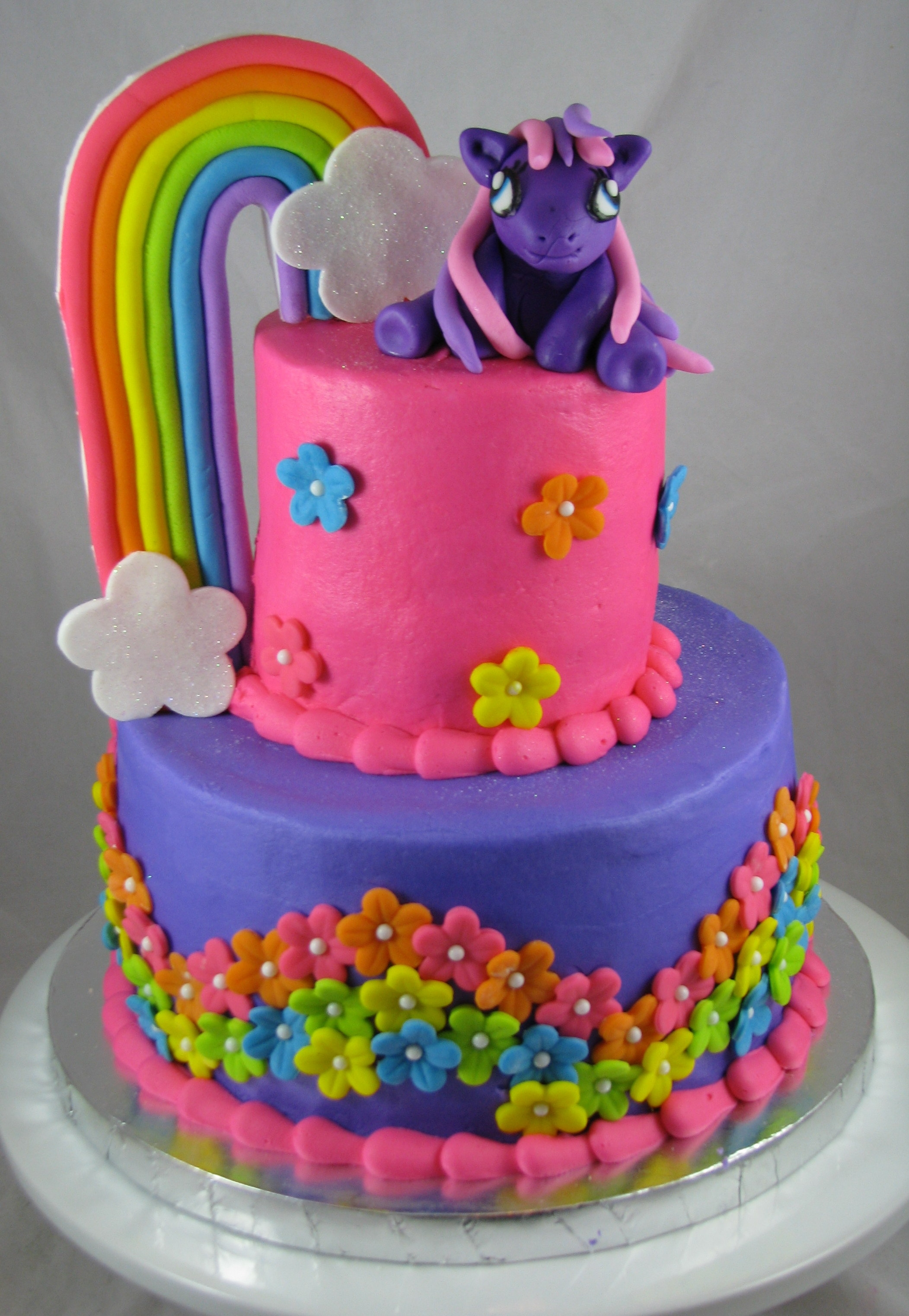 My Little Pony Birthday Cake CakeCentralcom