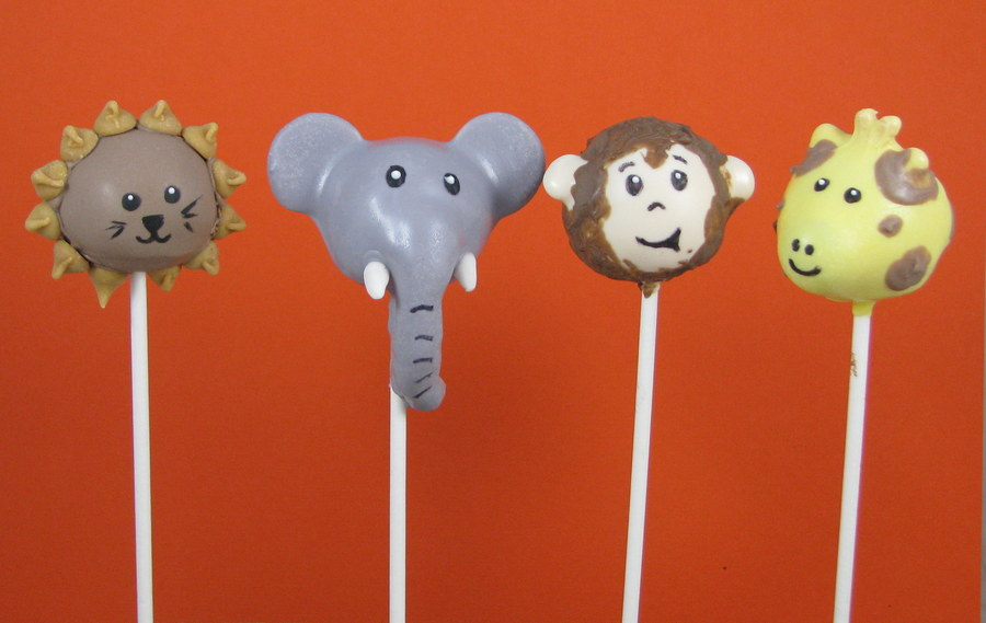 Safari Cake Pops Tutorial
