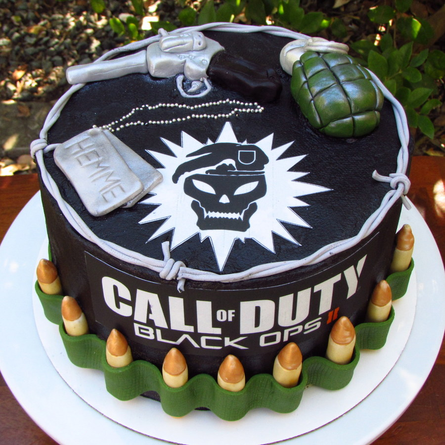 Boys Birthday Cake Ideas: Call Of Duty Cake !