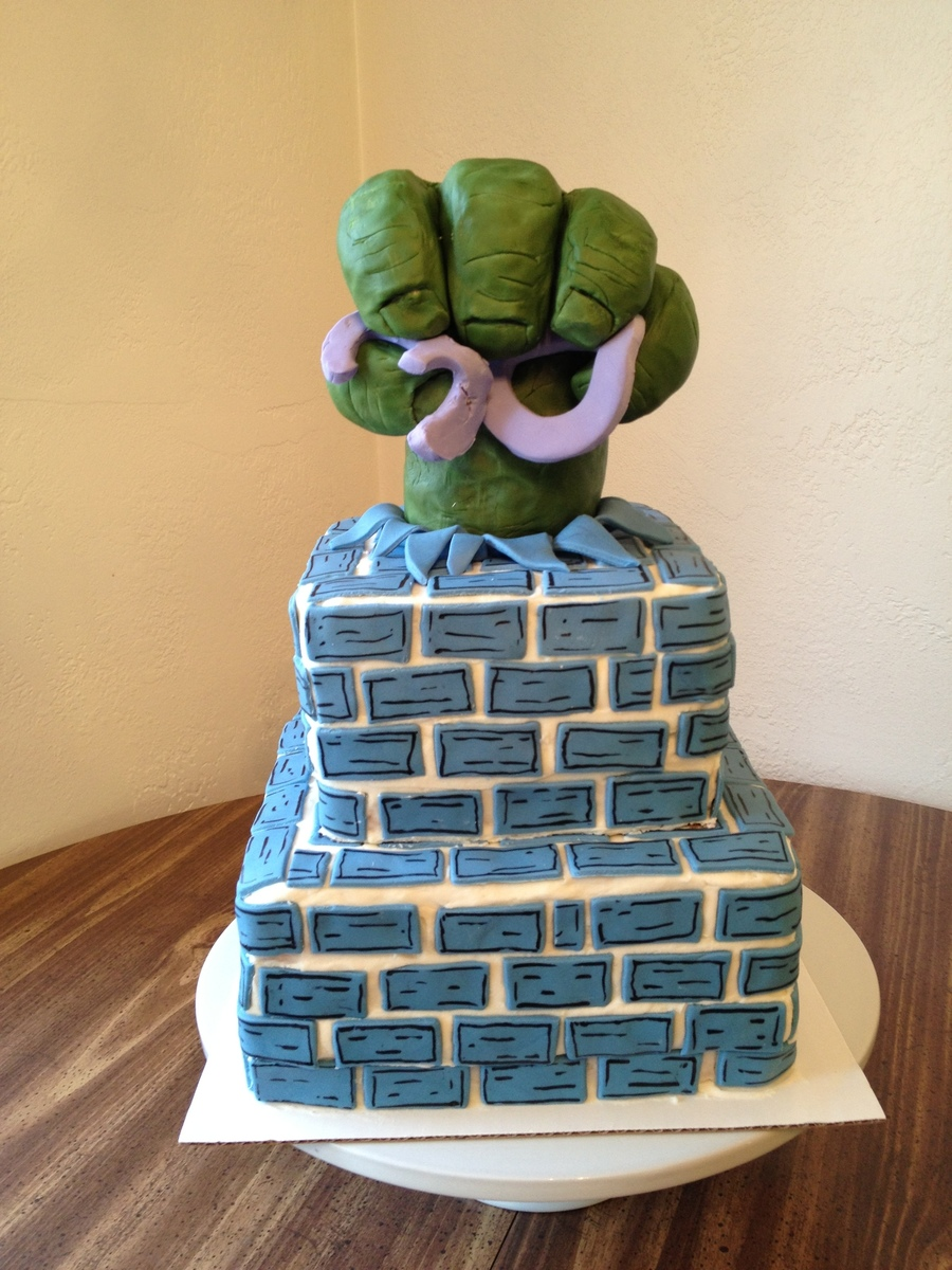 Incredible Hulk Cake on Cake Central