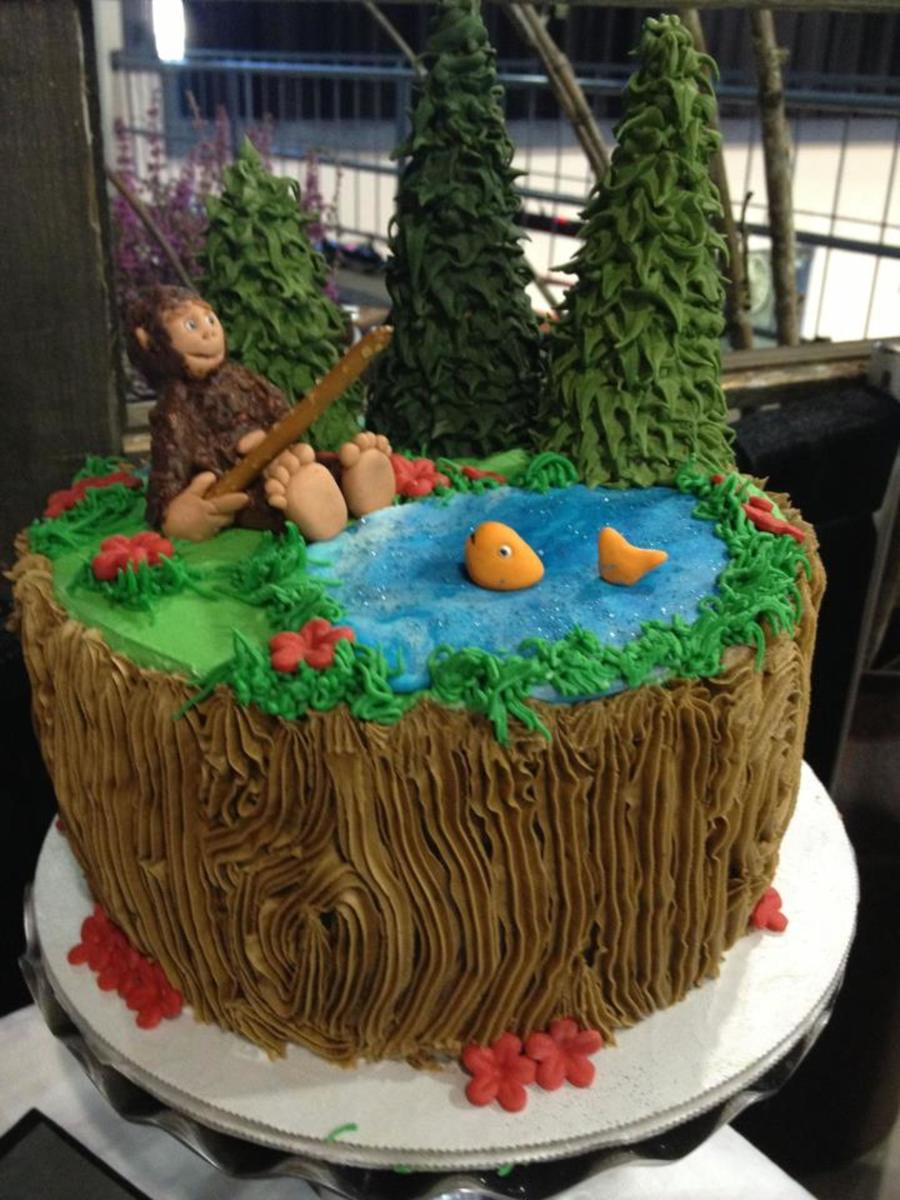 Big Foot Birthday Cake Cakecentral Com