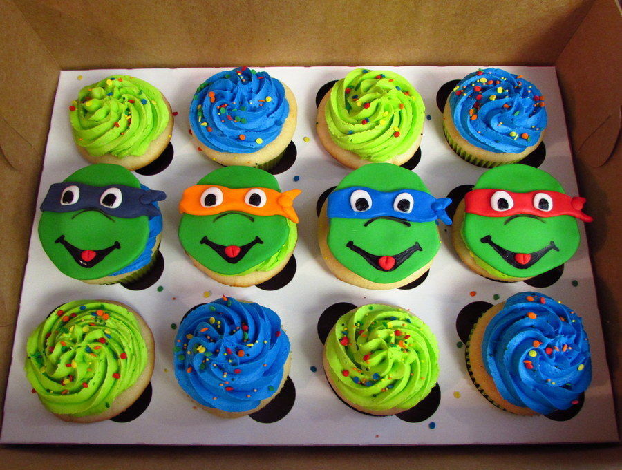 Teenage Mutant Ninja Turtles Cupcakes Cakecentral Com