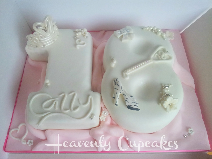 Super 18Th Number Cake Cakecentral Com Funny Birthday Cards Online Inifodamsfinfo