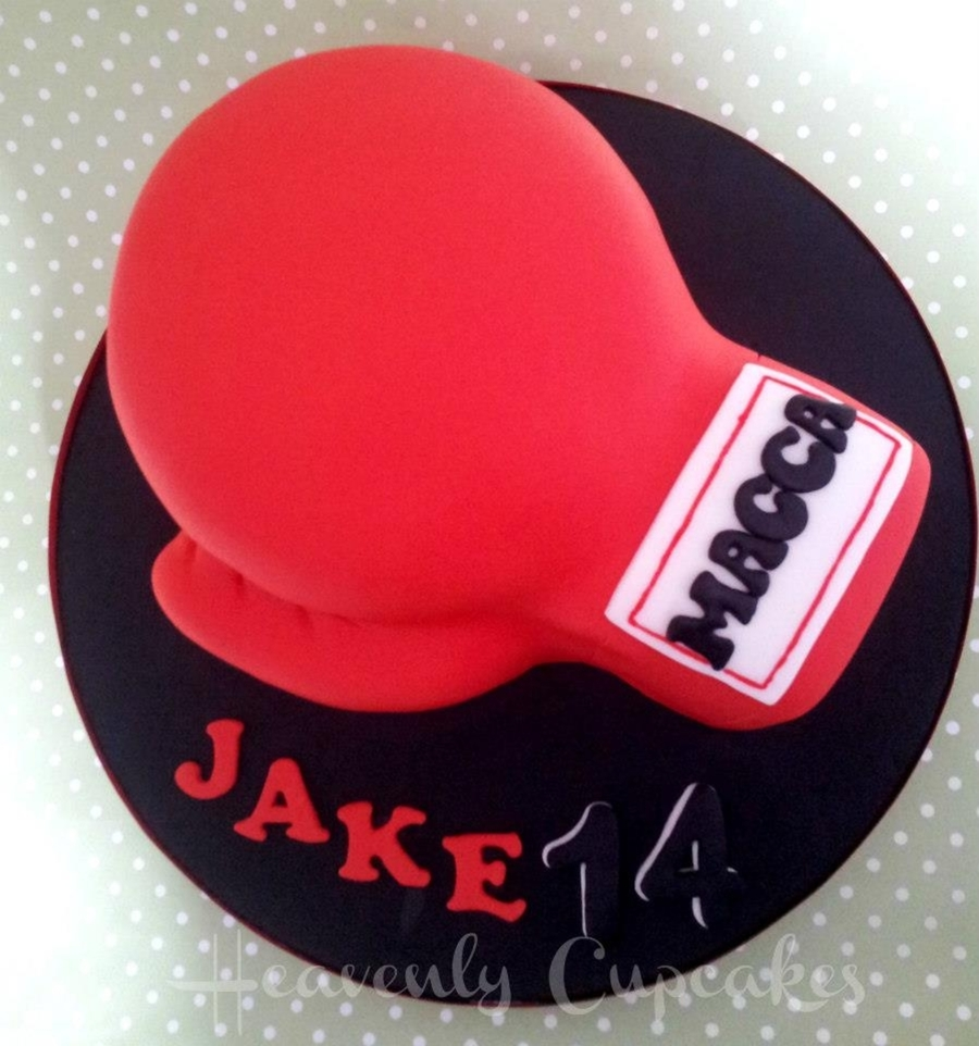Boxing Birthday  on Cake Central
