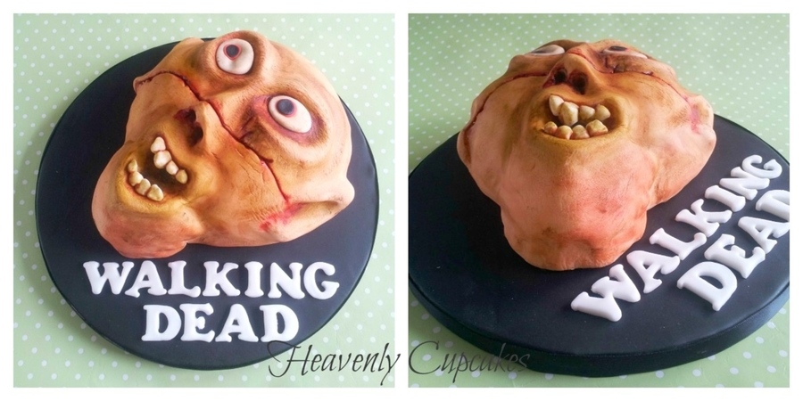 Zombie Birthday on Cake Central