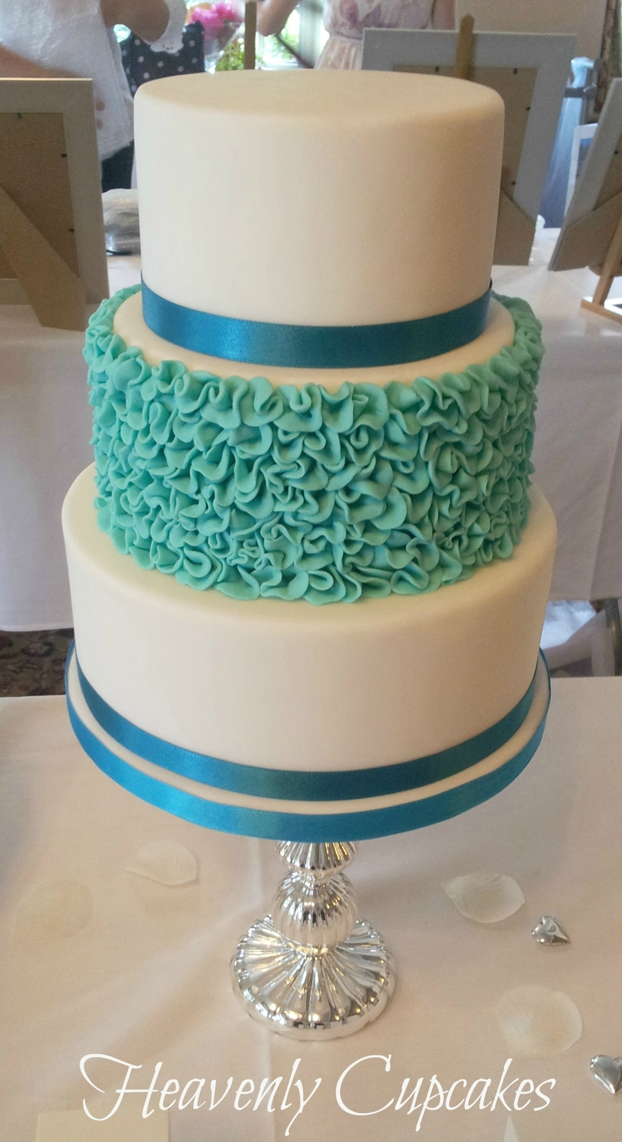 Turquoise Wedding on Cake Central