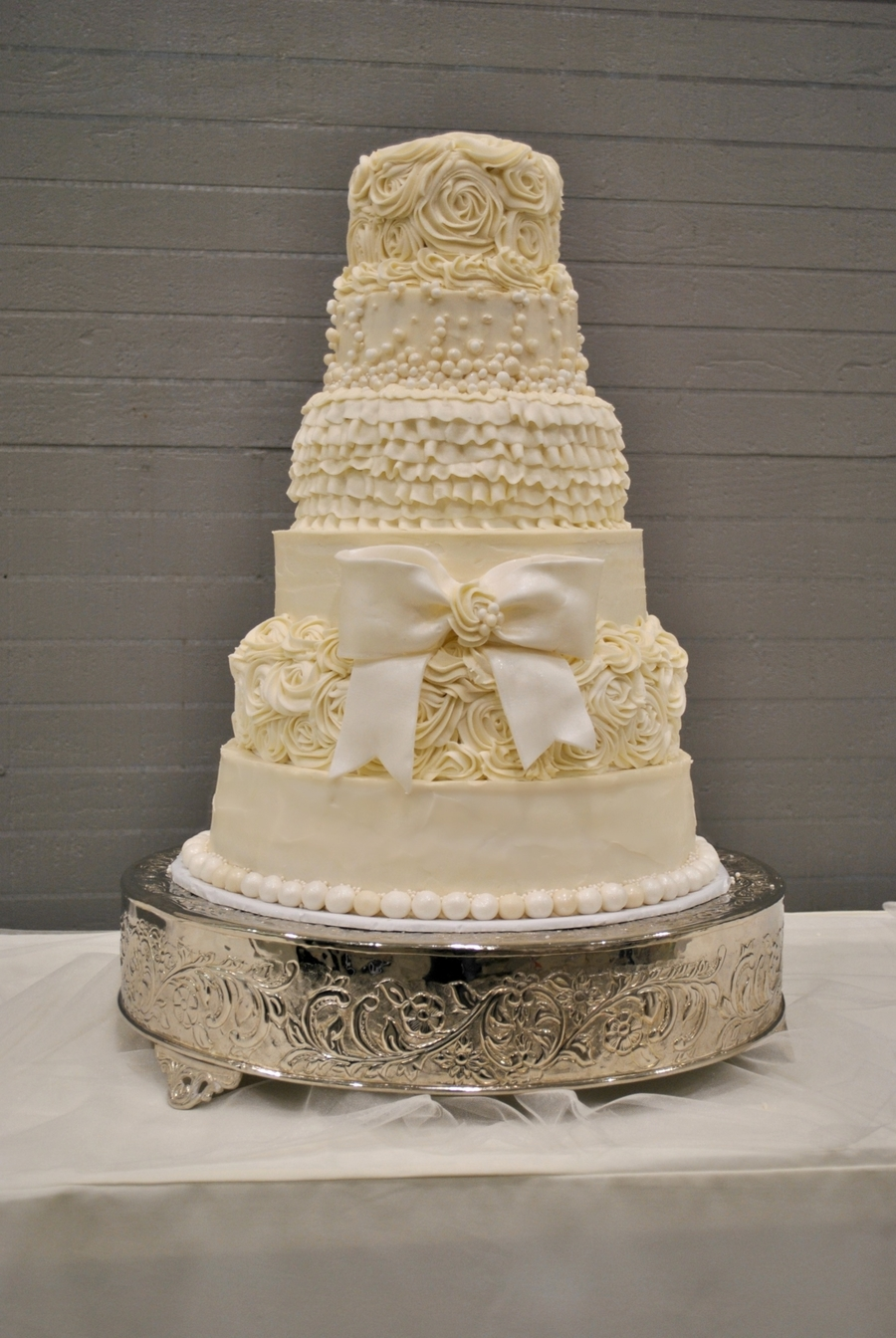 Vintage Princess Wedding Cake  on Cake Central