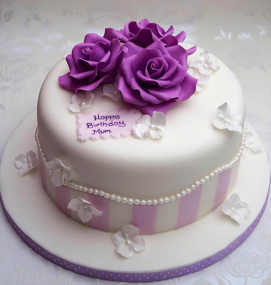 Vintage Birthday Cake CakeCentralcom
