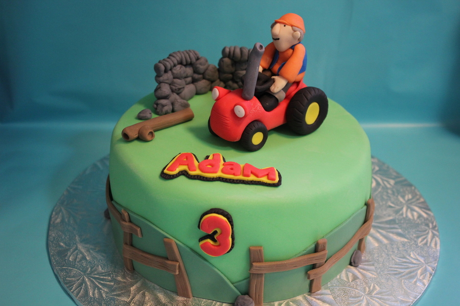 Little Red Tractor on Cake Central