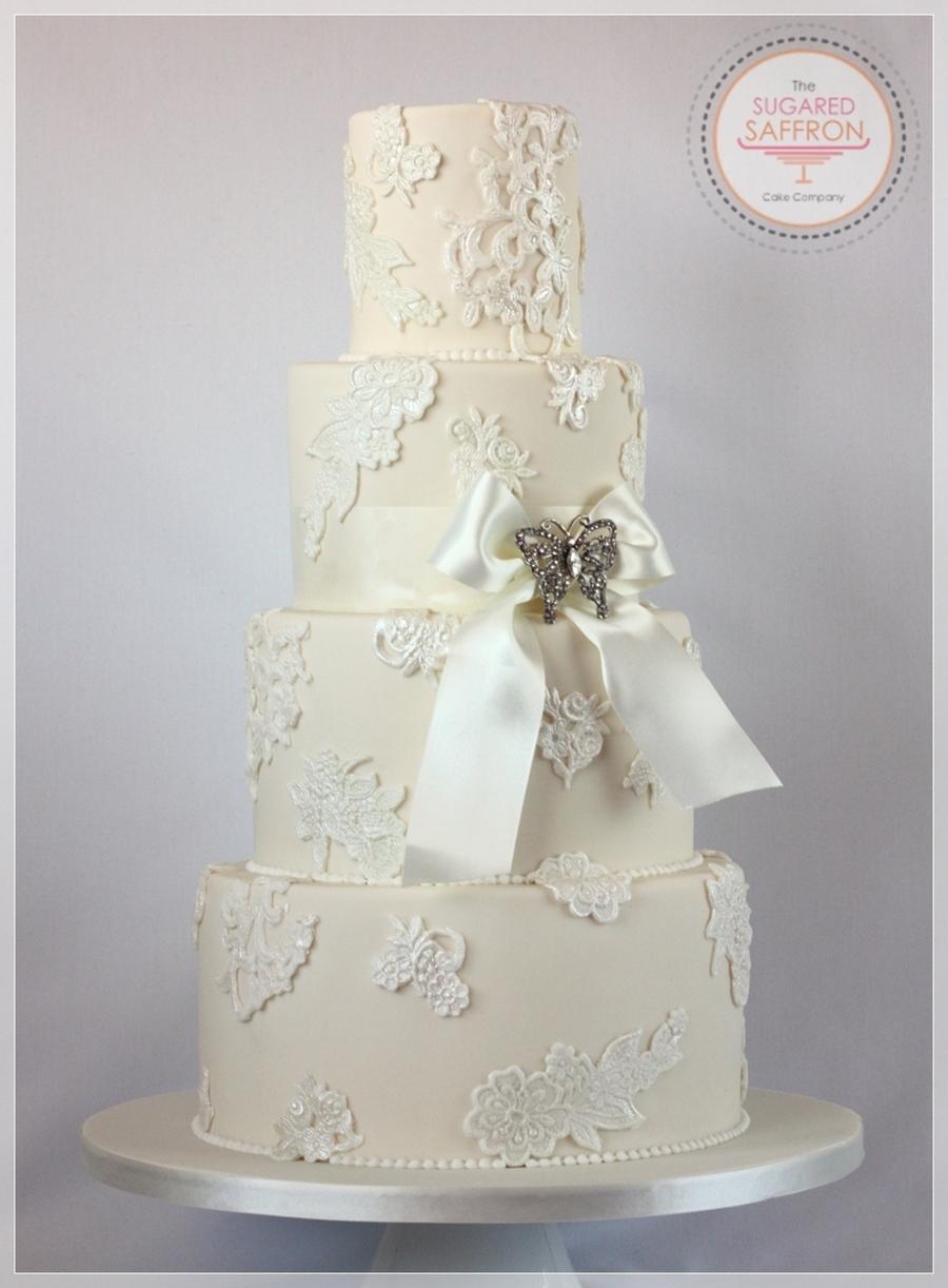 Lace Applique Molds For Cakes
