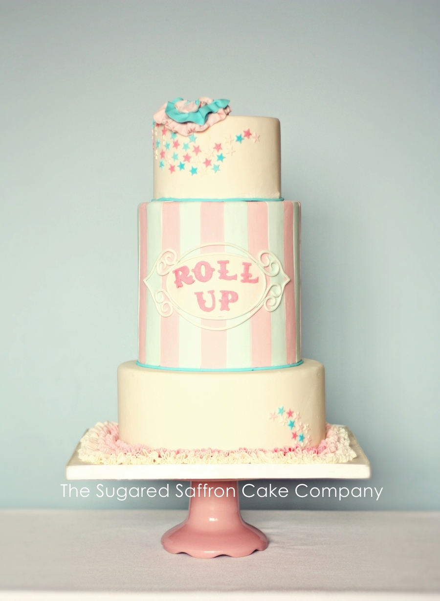 Funfair Themed Pastel Cake on Cake Central