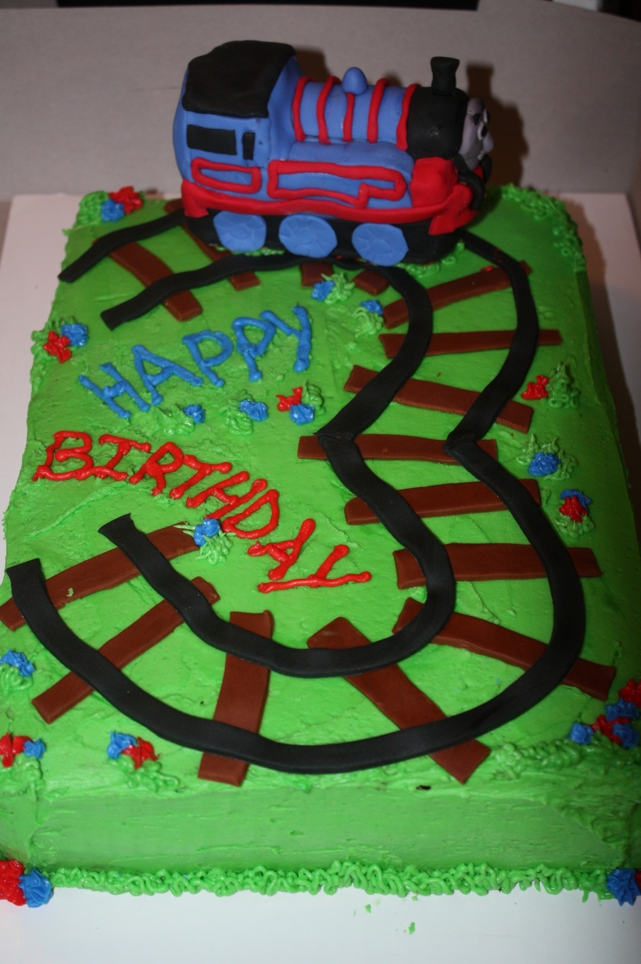 Thomas The Train Cake Cakecentral