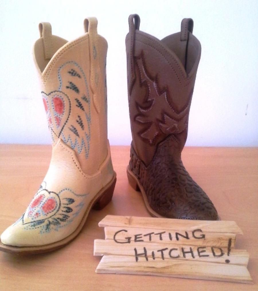 Gum Paste Cowboy Boots. - CakeCentral.com