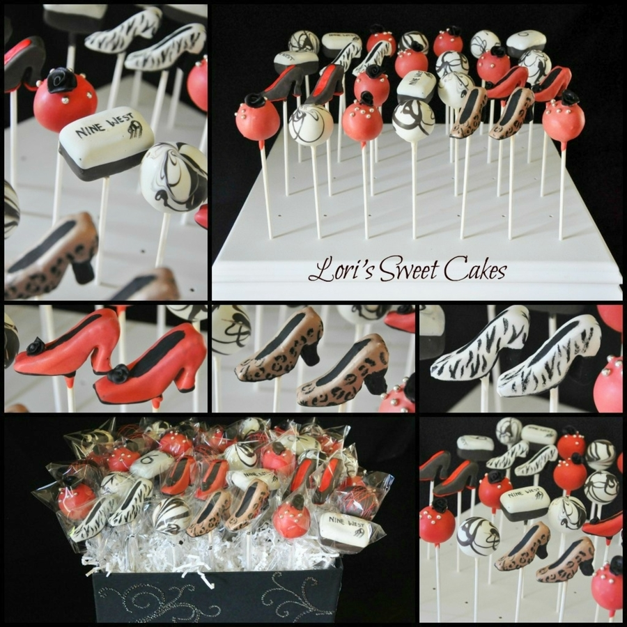 Shoe Cake Pops on Cake Central