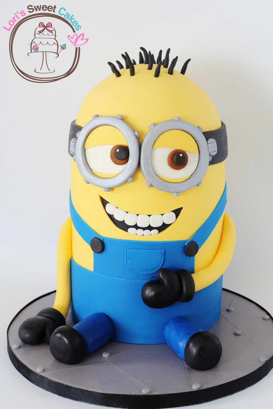 Images For Minions Birthday Cake : Minion Cake - CakeCentral.com