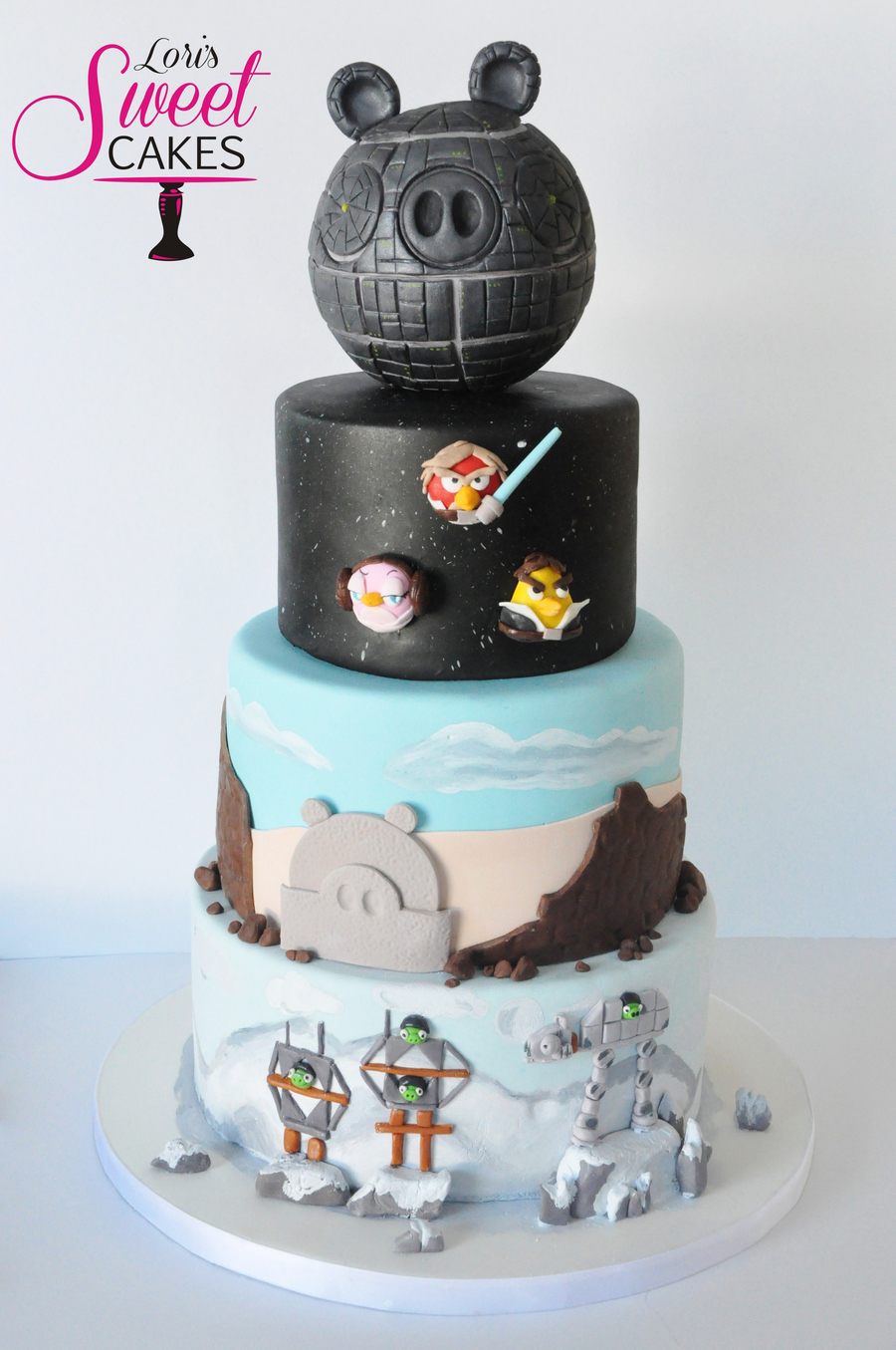 My Sons Birthday Theme This Year Was Angry Birds Star Wars His Attention To Detail Is Remarkable For A 7 Year Old We Butted Heads A Few T on Cake Central