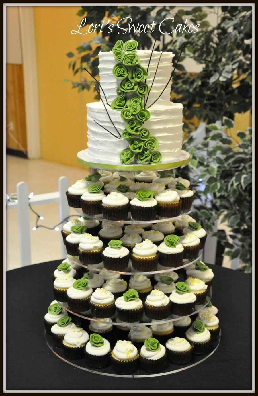 Wedding Cupcake Tower Cakecentral Com