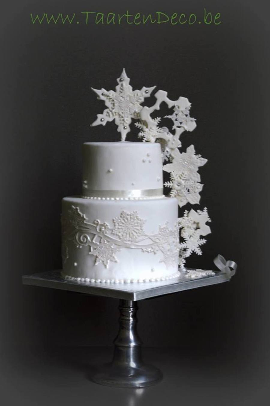 Winter Cake on Cake Central