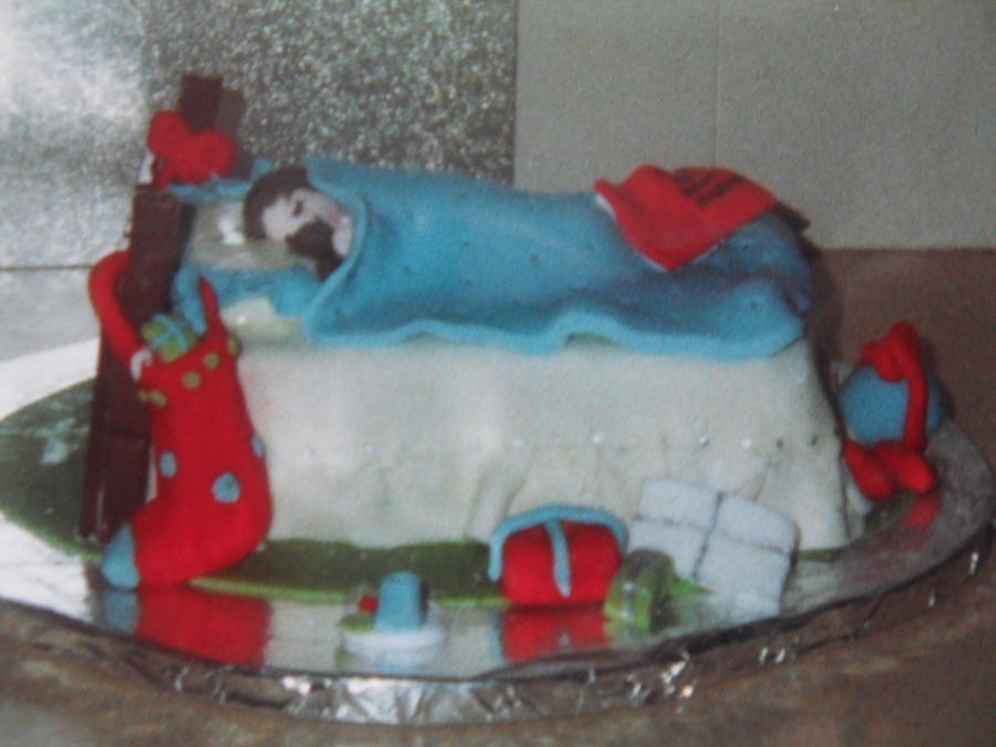 The Night Before Christmas on Cake Central