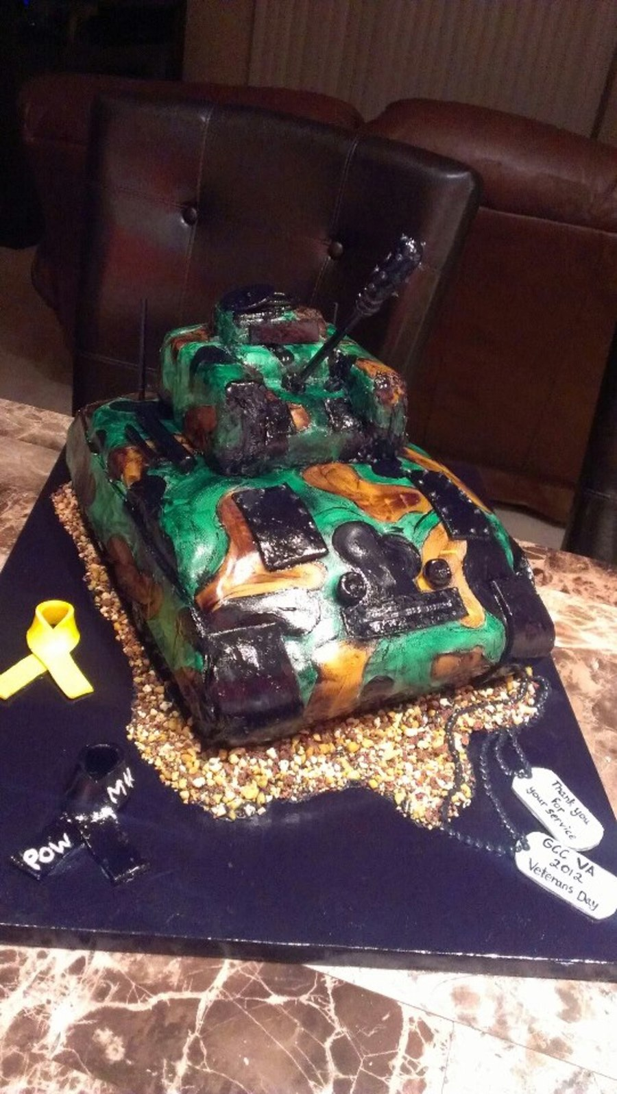 M1A2 Military Army Tank on Cake Central