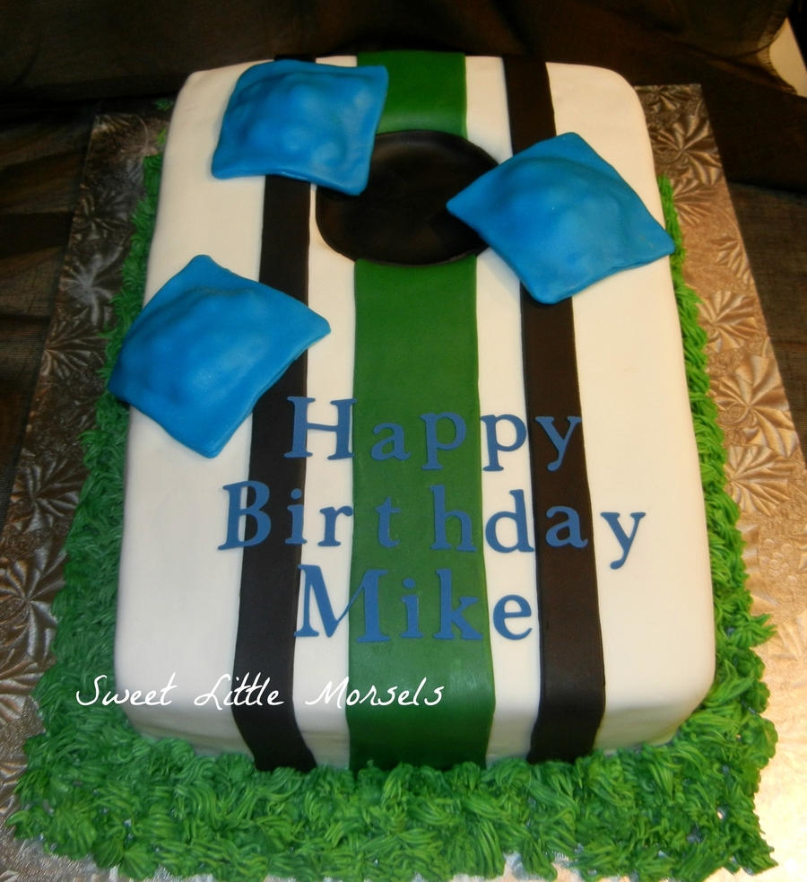 Corn Hole Cake Cakecentral