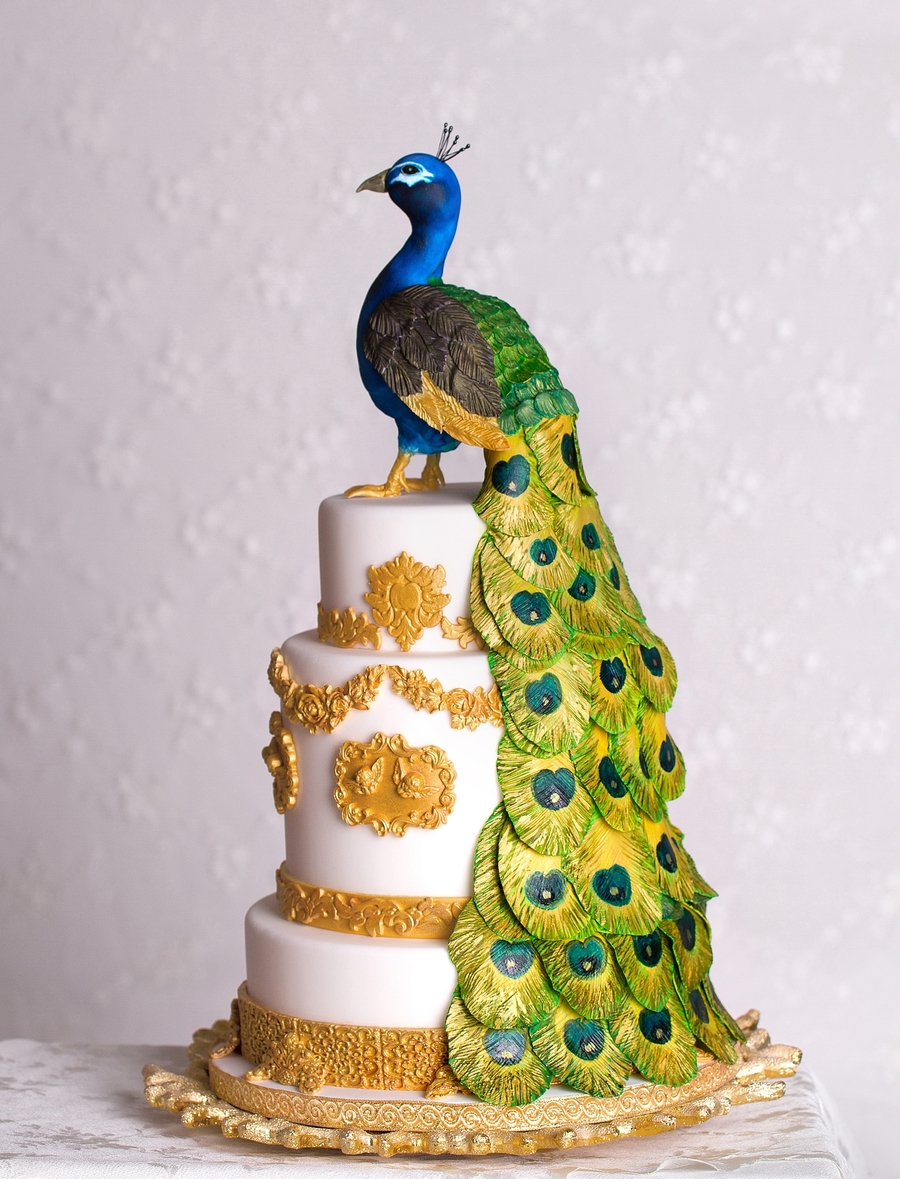 Peacock Cake on Cake Central