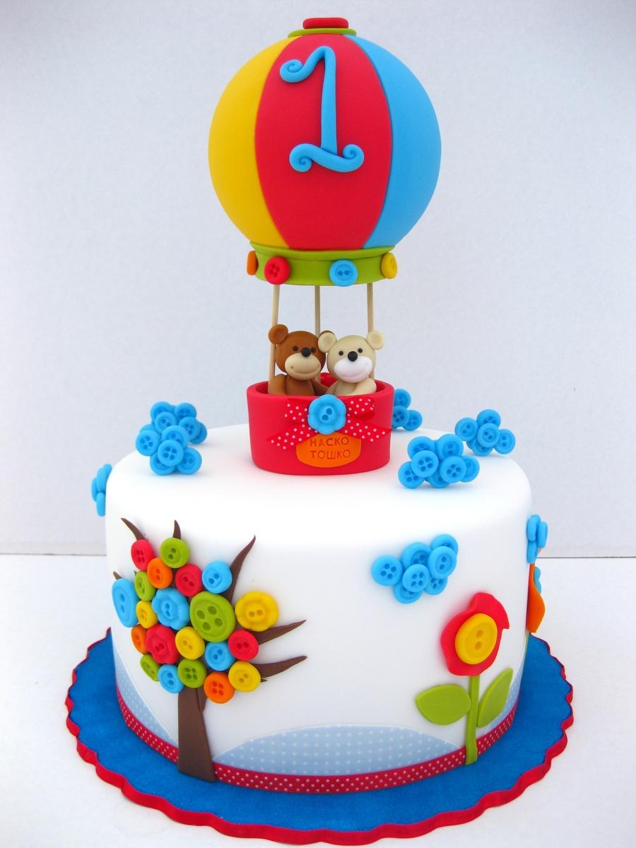 Красивый торт на день рождения мальчику 1 год