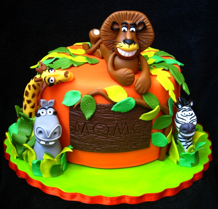 Madagascar Cake on Cake Central