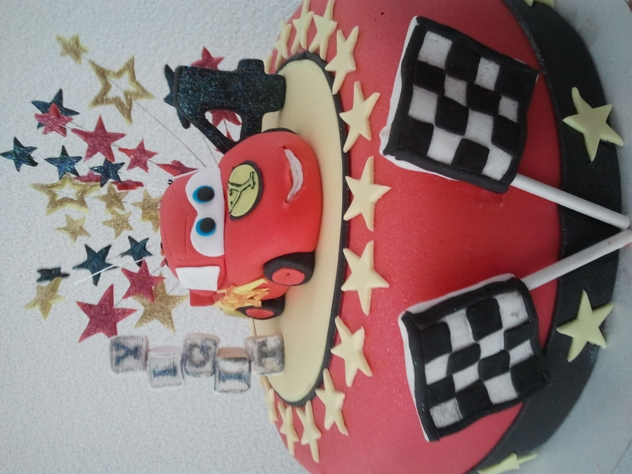 Cars Mcqueen  on Cake Central