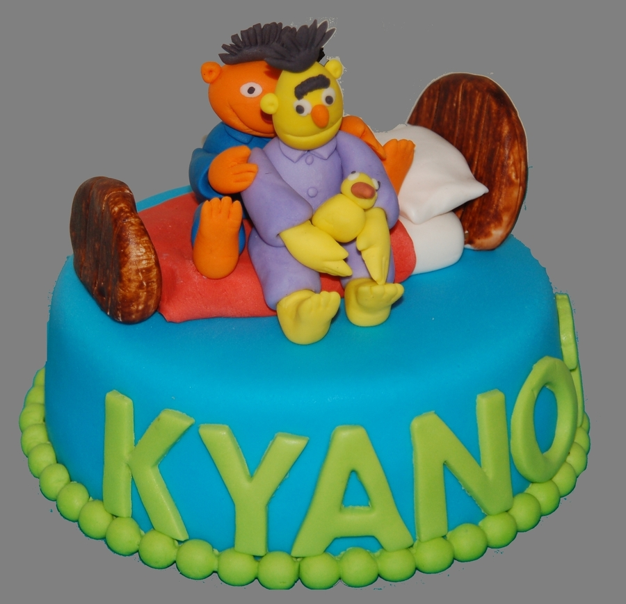 Bert And Ernie on Cake Central